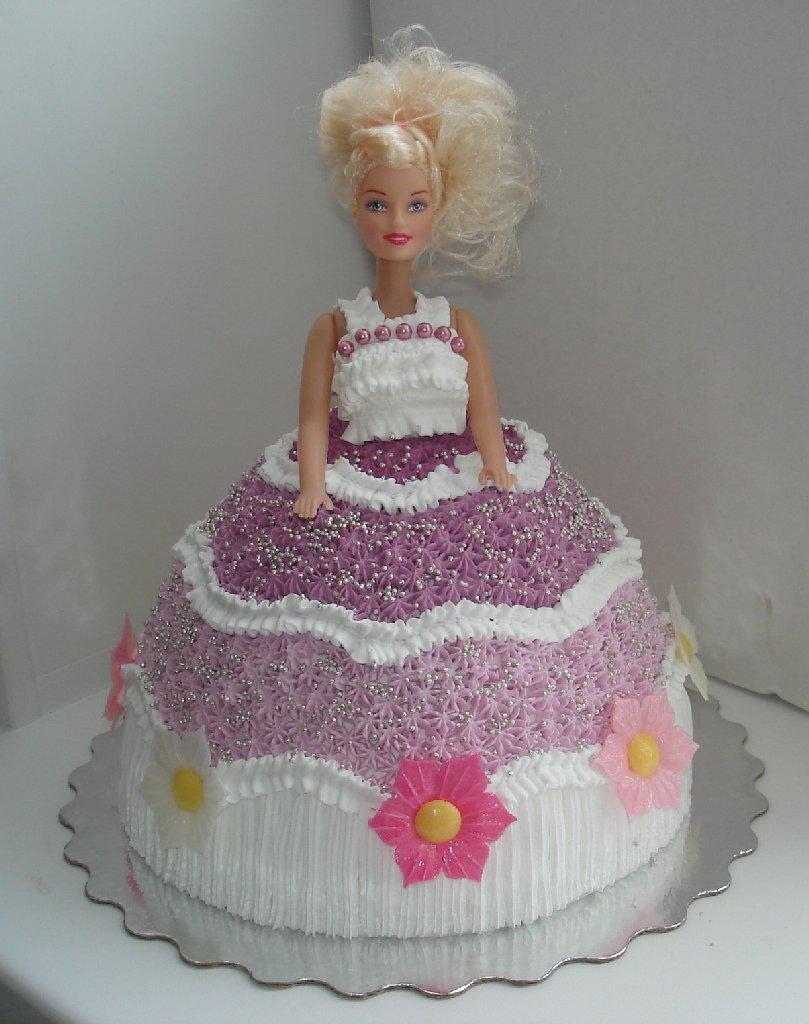 Торт барби из крема своими руками